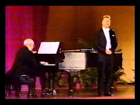 Oh  ! NICOLAI GEDDA WITH M ROSTROPOVICH piano TCHAIKOWSKY  LENSKY ARIA LIVE 1977  RARE