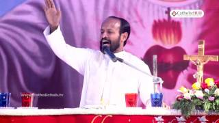 PREACHING BY/- Rev. Fr. Dinny VC @ Divine Renewal Retreat Centre, Margherita, INDIA.11-12-16