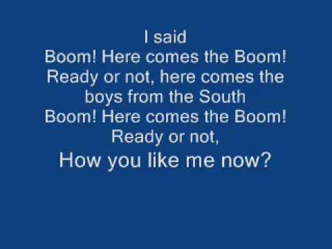 POD Boom lyrics