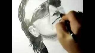 Bono U2 Speed Painting