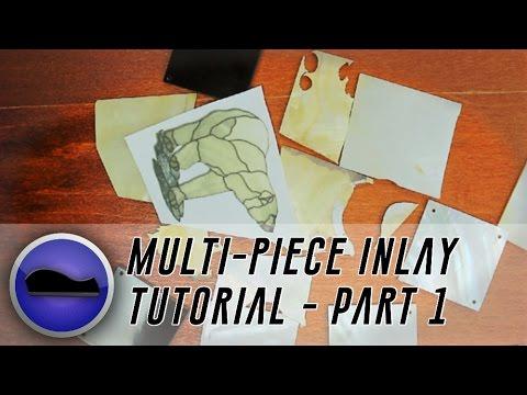 Inlay Tutorial - Multi-Piece Polar Bear (Part 1)