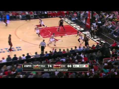 Miami Heat vs Chicago Bulls | March 9, 2014 | NBA 2013-14 Season