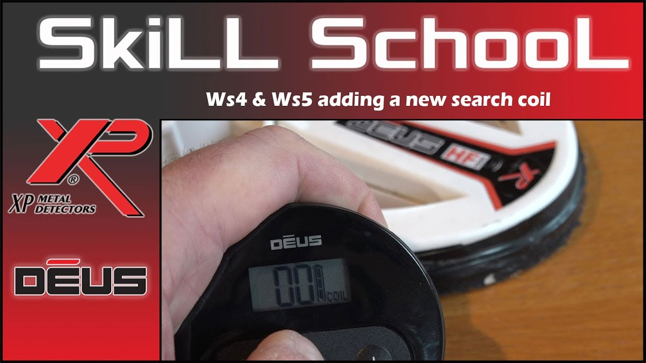 The Picture Shows Metal Detector Circuit Detecting Coil Xp Deus Adding And Deleting A New To Your Ws4 Ws5 Headphones