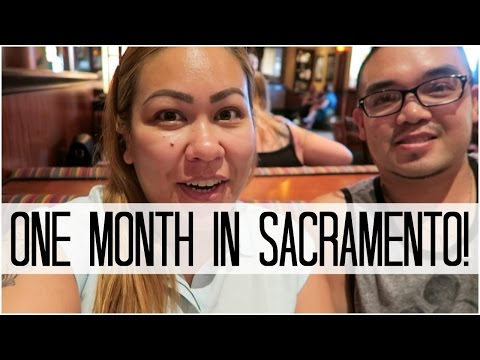 ONE MONTH IN SACRAMENTO! - August 2, 2016