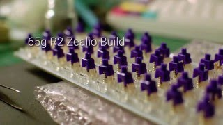 GMK QMX Clips 65g Zealio Typing Test and Sound Comparison