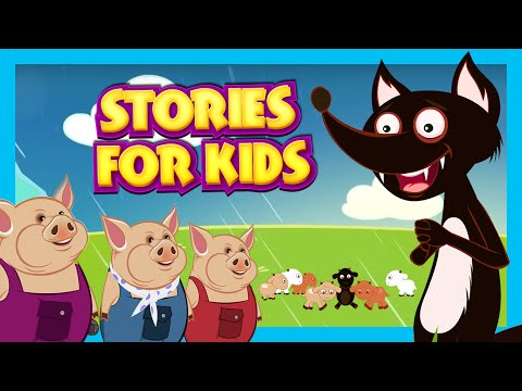 Stories For Kids In English | Big Bad Wolf and More | Short Stories For Children  Story Compilation