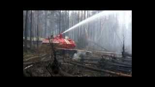 видео Тушение пожаров