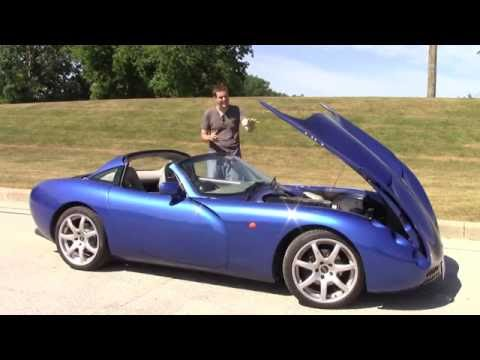 I Drove a Crazy Rare Imported TVR Tuscan, And It's Insane