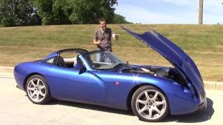 I Drove a Crazy Rare Imported TVR Tuscan, And It