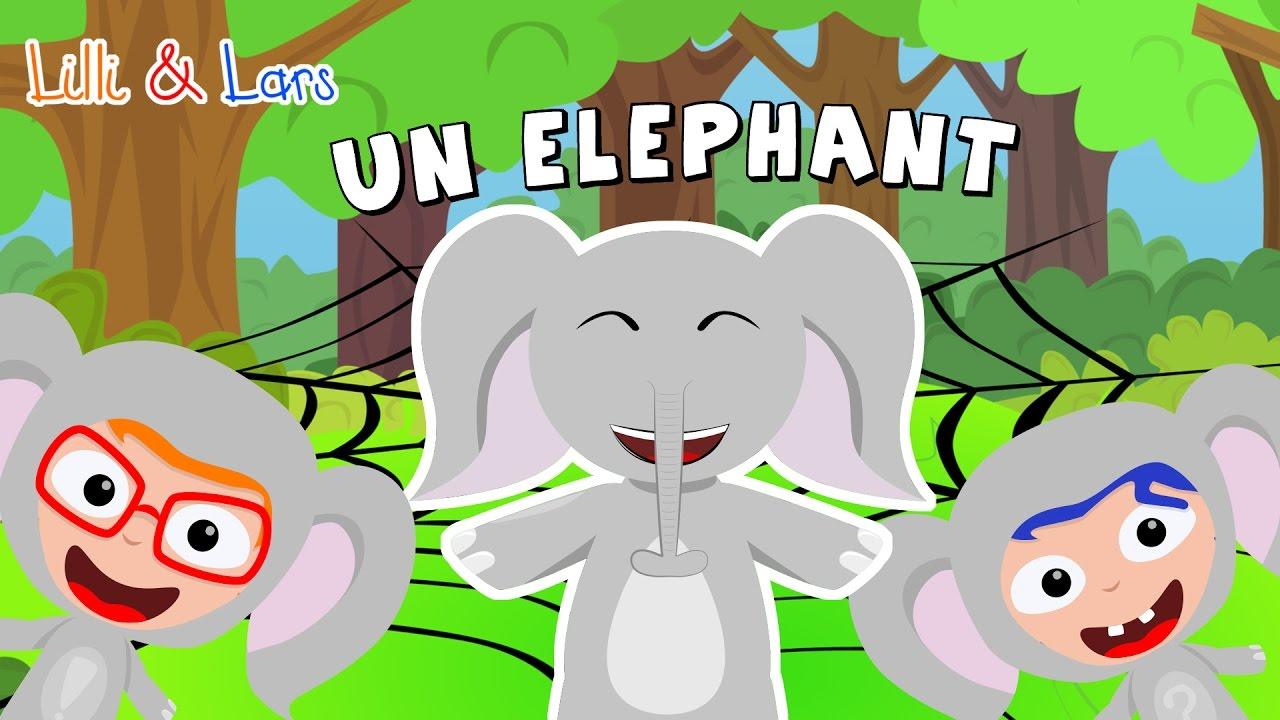 Un éléphant Qui Se Balançait Chanson Comptine Pour Bebe Francais
