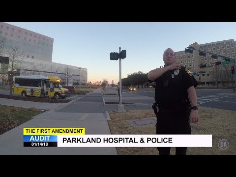 First Amendment Audit - Dallas County Hospital District Police