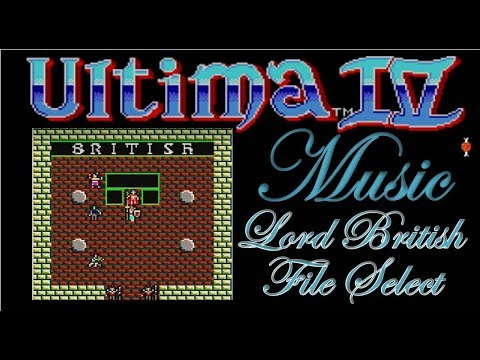 Ultima IV: Quest of the Avatar (SMS) Music - Lord British and File Select