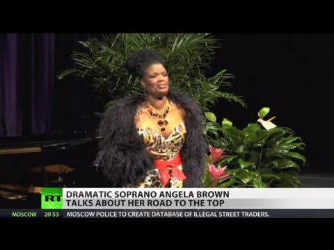 Dramatic soprano Angela Brown tells Prime Time about her roa