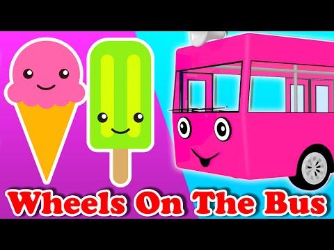 Колеса на автобусе | МОРОЖЕНОЕ Семейные | Детские песни