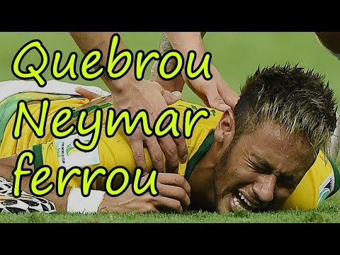 Quebrou Neymar ferrou - Paródia País do Futebol (MC Guimê part. Emicida) - Copa do Mundo 2014