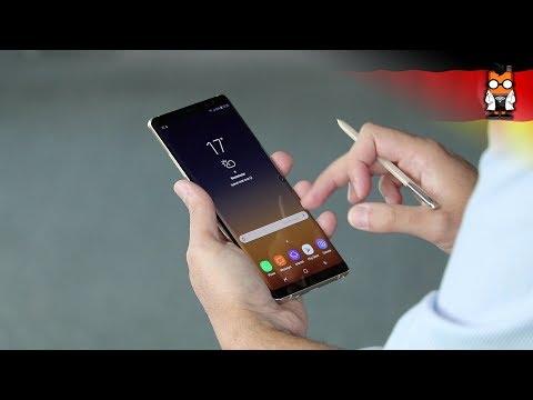 Samsung Galaxy Note 8 im Hands on [German - Deutsch]