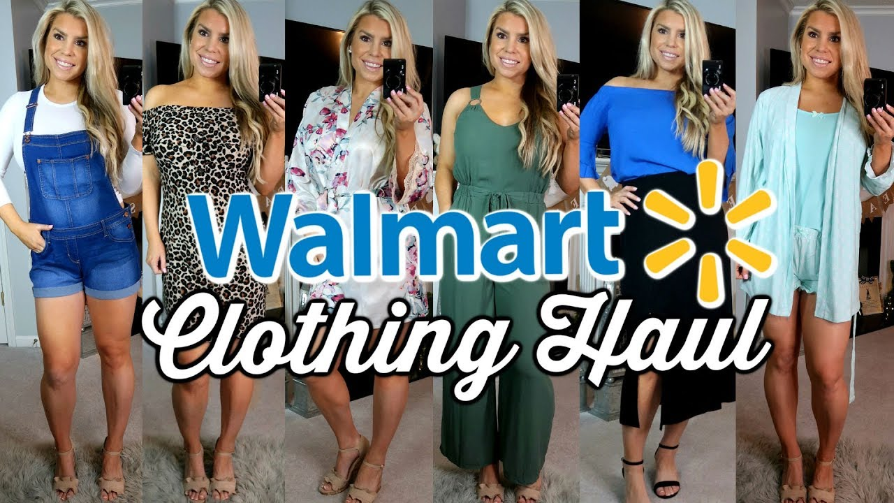 14a91c5bab HUGE WALMART HAUL AND TRY ON