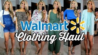HUGE WALMART HAUL AND TRY ON | CUTE CHEAP CLOTHES FOR SPRING