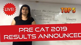 CATKing Pre CAT 2019 Analysis and Results Announced