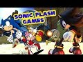 Playing More Sonic Flash Games