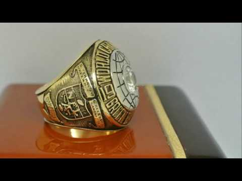 Green Bay Packers 1966 NFL Super Bowl I Championship Ring 1966 NFL Super Bowl I Championship Ring