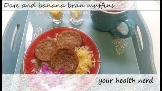 Date And Banana Bran Muffins :: A Mothers Day Breakfast