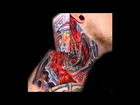 biomechanical tattoos roman abrego youtube