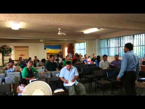 Saya San Toe Bible Study Brisbane Queensland Australia Part 6