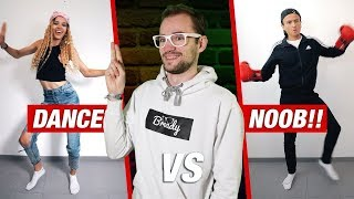FORTNITE Dances in REAL LIFE! | * Dancer VS. Noob Vs. BROFI * | Dima | Reaction