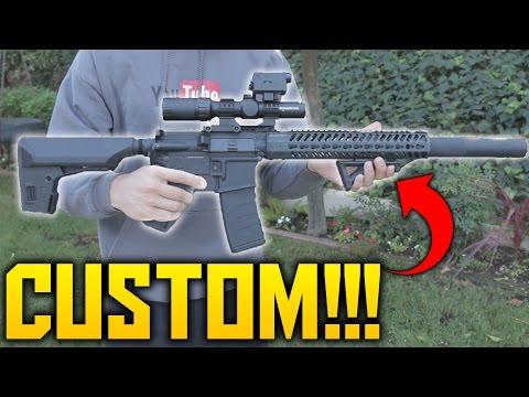 Custom Airsoft DMR/SPR: Custom KWA KR12   Custom Airsoft Gun