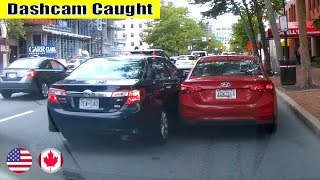 Ultimate North American Cars Driving Fails Compilation - 229 [Dash Cam Caught Video]