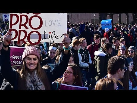 Thousands gather for anti abortion rally