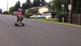 Jud's Motorized Barstool