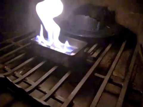 homemade bioethanol burner youtube