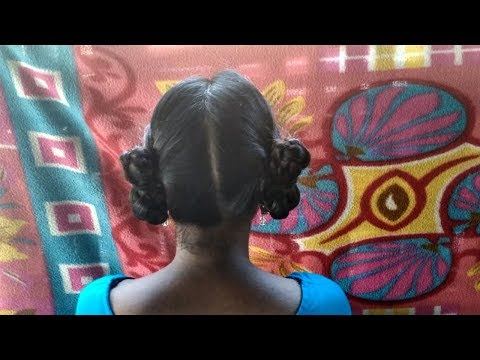 Folded Hairstyles | Rubber Band Hairstyles By Suchi Planet