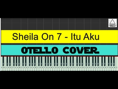 Sheila On 7 - Itu Aku Cover Piano Tutorial Easy + Lyrics (cc)