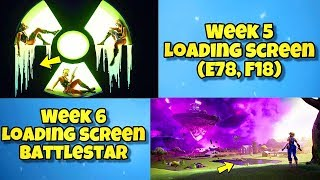 NEW SEASON 10 WEEK 5 & 6 LOADING SCREENS In Fortnite - SECRET BATTLE STAR LOCATION WEEK 5 SEASON 10