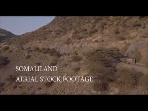 A Beautiful Drone Flight Over Somaliland