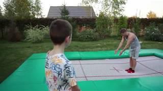 Прыжки на гимнастическом батуте: Урок с Юрием Громовым