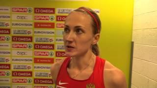 Екатерина Пиоистогова - 800м Полуфинал, Прага 2015