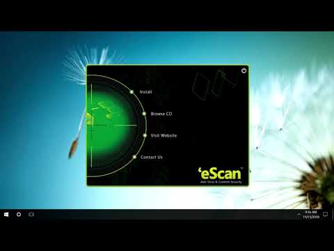 HOW TO INSTALL eScan Anti-Virus SOFTWAFRE.ACTIVATE eScan.Update eScan.Action eScan.