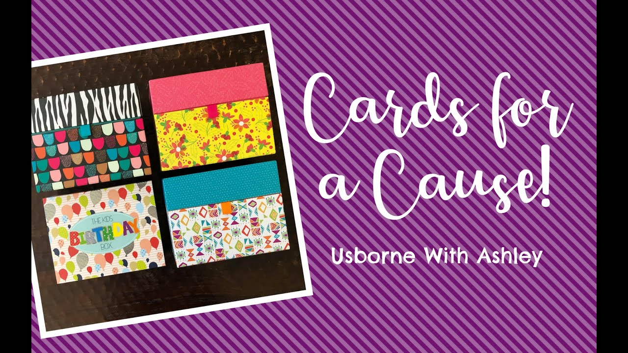 Cards For A Cause (CFAC) 2018 from Usborne Books & More!