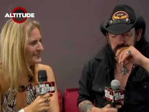 Full Metal Jackie Interviews Lemmy of Motorhead