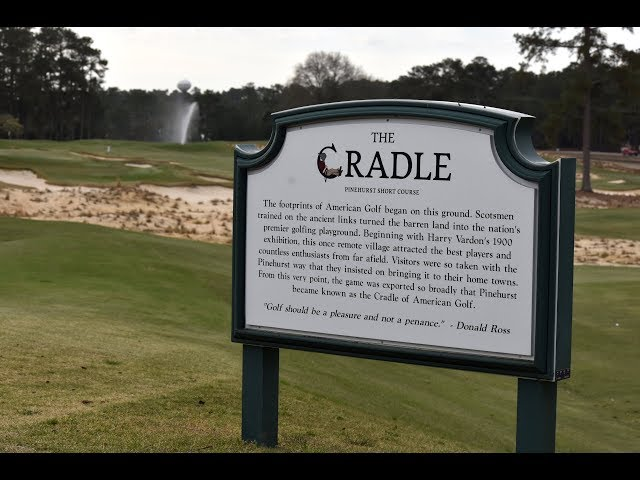 Pinehurst's 789-Yard 'Cradle' Course, Music Included, Is Golf