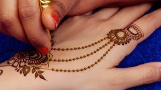 Mehndi Design for Hands | Easy Floral Mehndi Design for Beginners by Sonia Goyal #362