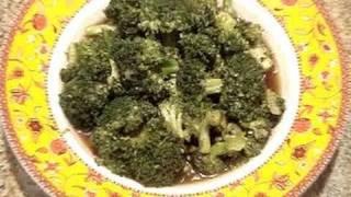 Broccoli With Garlic Sauce Recipe