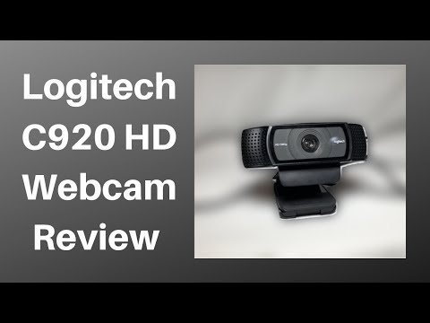 Logitech C920 HD Webcam Review