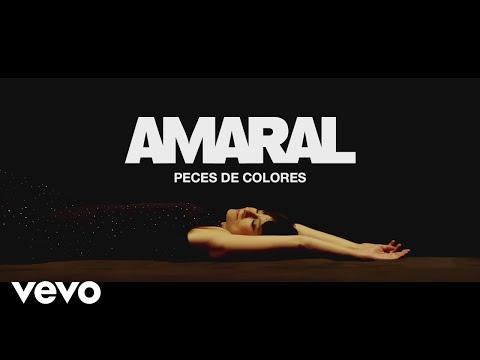 Amaral - Peces de Colores (Lyric Video)