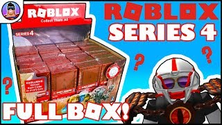 ROBLOX Series 4 Mystery Box Opening! | We Review Roblox & Virtual Items! | Entire Box to open!