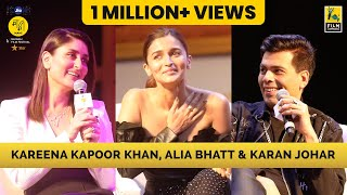 The Big Talk with Karan Johar | Alia Bhatt & Kareena Kapoor Khan | Jio MAMI Movie Mela with Star